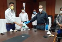 Oil India Limited donates PPE materials to Guwahati Municipal Corporation