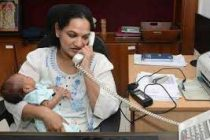 IAS officer joins battle against Covid within a month after delivery