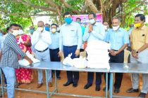 NLC INDIA DISTRIBUTES ESSENTIAL FOOD COMMODITIES TO 25,000  PROJECT AFFECTED PERSONS AND VILLAGERS SURROUNDING NEYVELI WORTH Rs. 1.2 CRORES