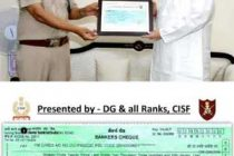 CISF personnel donate one-day salary in PM-CARES Fund