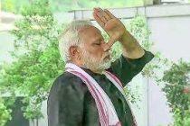 Yoga helps 'confidently negotiate challenges': Modi