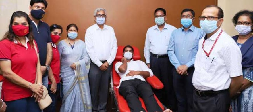 NHPC organizes Blood Donation Camp