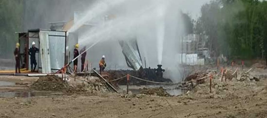 Blowout in Gas Well of Oil India Limited at Baghjan, Tinsukia 18 July 2020