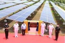 Navy station in Raigad goes green with 2MW solar plant
