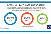 ADB approves $100 million loan to strength Uzbekistan's resilience to health emergencies