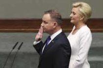 Polish Prez sworn in for 2nd term