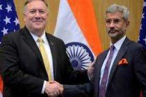 Pompeo, Jaishankar discuss China's 'destabilising actions in region'