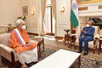 J&K Lt Guv Sinha meets President, Vice-President