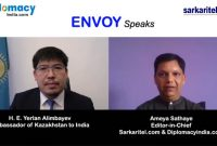 Envoy Speaks : Exclusive Video Chat with H.E. Yerlan Alimbayev, Ambassador of Kazakhstan to India