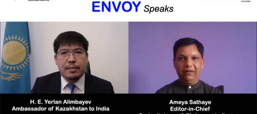 Envoy Speaks : Exclusive Video Chat with H.E. Yerlan Alimbayev, Ambassador of Kazakhstan to India
