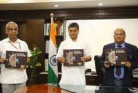 Power Minister launches REC Limited's coffee table book