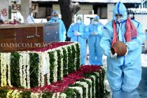 Pranab Mukherjee cremated with military honours amid Covid-19 precautions