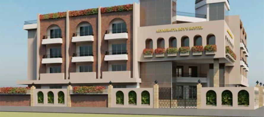केन्द्रीय विद्युत राज्य मंत्री द्वारा सी.एम. साइन्स कॉलेज में छात्रावास बिल्डिंग का शिलान्यास