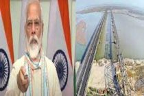 PM inaugurates Kosi Rail mega bridge