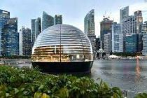 World's first floating Apple store to open Thursday in Singapore