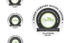 HPCL awarded Greenco 'Platinum' Rating