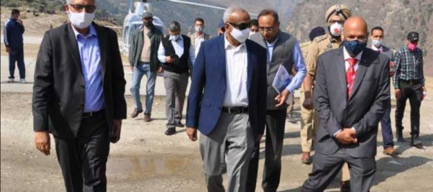 Secretary (Power), Government of India and CMD, NHPCvisited Dulhasti Power Station