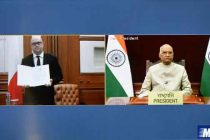 Envoys of Switzerland, Malta and Botswana Present Letter of Credence Through Video Conference