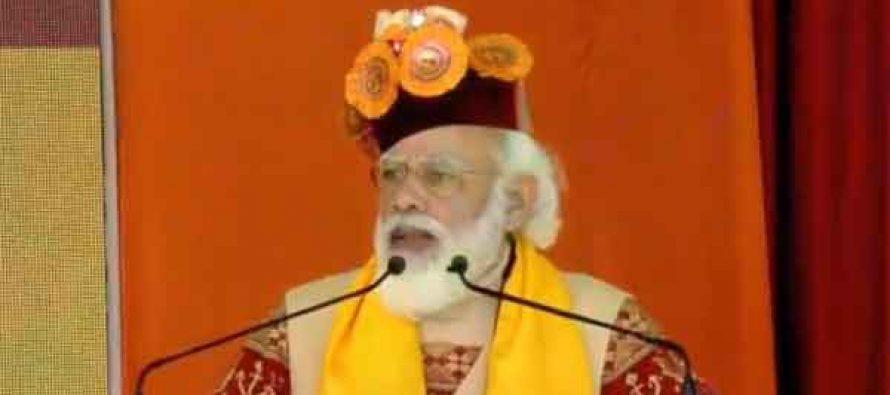 PM Modi inaugurates strategic Atal highway tunnel in Himalayas