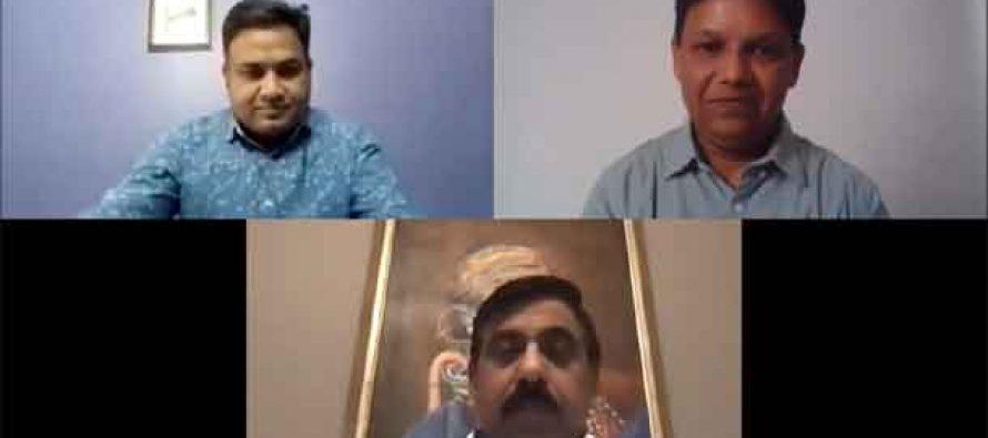 Sarkaritel.com Interview with U P Singh (IAS), Secretary, Ministry of Jal Shakti & Drinking Water & Sanitation by Ameya Sathaye, Publisher & Editor-in-Chief, Sarkaritel.com