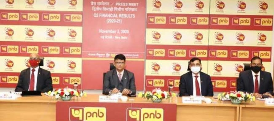 Punjab National Bank Q2 FY-21 Financial Results