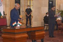 The President of India, Ram Nath Kovind, administered the oath of office to Yashvardhan Kumar Sinha, Chief Information Commissioner