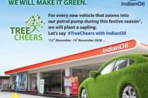 IndianOil says #TreeCheers for a green festive season