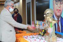 NHPC pays tribute to Bharat Ratna Babasaheb Dr. B.R. Ambedkaron his Mahaparinirvan Diwas