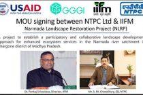 NTPC to partner Narmada Landscape Restoration Project
