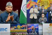 PRESIDENT OF INDIA VIRTUALLY CONFERS THE DIGITAL INDIA AWARDS 2020