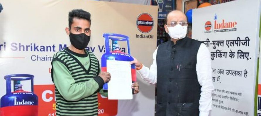 Chhotu: At Your Service ! : IndianOil gives a brand identity to its 5 kg free trade cylinder