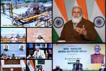 One country, one gas grid: Modi after inaugurating Kochi-Mangaluru gas pipeline
