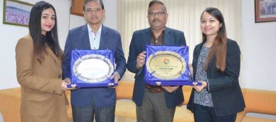 Oil India conferred with platinum and gold awards
