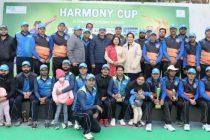 रॉयल डीसी एकादश टीम व एनएचपीसी एकादश के बीच सद्भावना क्रिकेट मैच