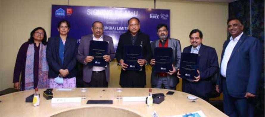 NBCC Signs MoU With Subsidiary Company HSCL