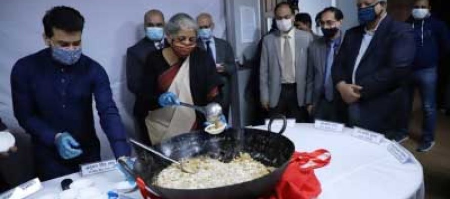 Final stage of Budget 2021-22 commences with Halwa ceremony