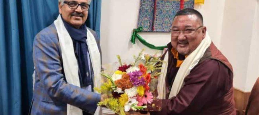 CMD, NHPC meets Minister of Rural Management & Development, Govt. of Sikkim
