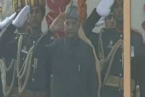 India celebrates R-Day, Prez unfurls flag at Rajpath