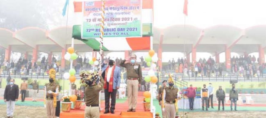 NTPC Bongaigaon celebrates 72nd Republic Day with Patriotic Colour and Fervour