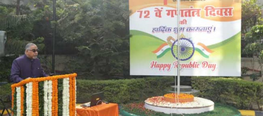 Oil India Limited celebrates 72nd Republic Day