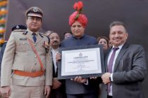 """PFC receives Certificate of Appreciation for """"Best CSR practices & Covid-19 Relief Work"""" from Government of Haryana"""