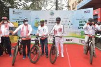 Oil India Limited (Pipeline Headquarters) successfully organised Saksham Cyclothon in four cities across Assam