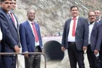 CMD SJVN Inaugurated River Diversion Arrangement of 200 MW APN 3 HEP