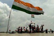 U.P. attempts setting record with 50k singing 'Vande Mataram'