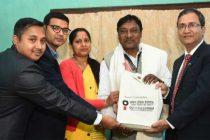 OIL felicities Padma Shri Awardee Dulal Manki
