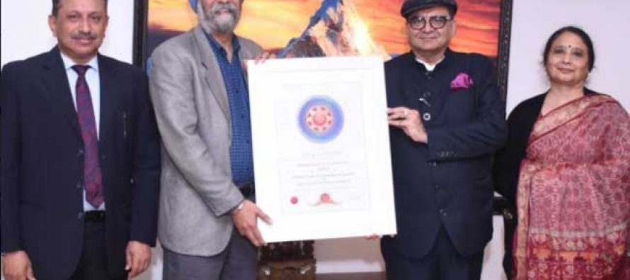 PFC Bags SKOCH Gold Award in 'Best Performing PSU for Covid Activities' category