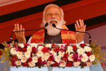 PM launches 'Asom Mala' and lays Foundation Stone of two Hospitals in Assam