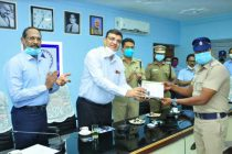 NLCIL presents 15 Motor Cycles and gadgets  to District Police Department, Cuddalore