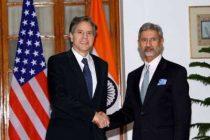 Blinken discusses Myanmar situation with Jaishankar
