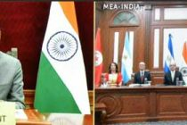 ENVOYS OF FIVE NATIONS PRESENT CREDENTIALS TO PRESIDENT OF INDIA THROUGH VIDEO CONFERENCE